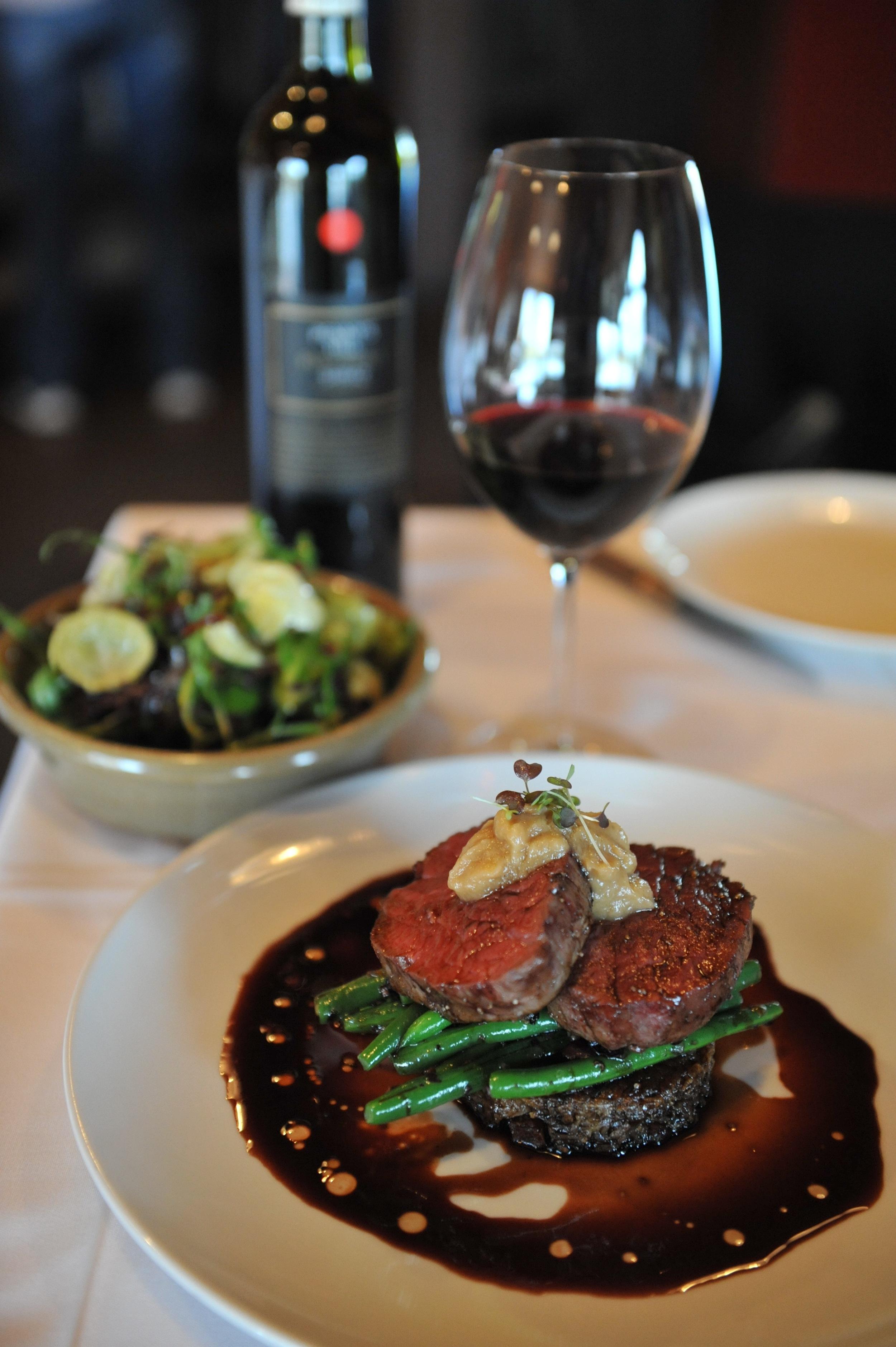 Eye-watering fillet steak at  The Kitchen Door