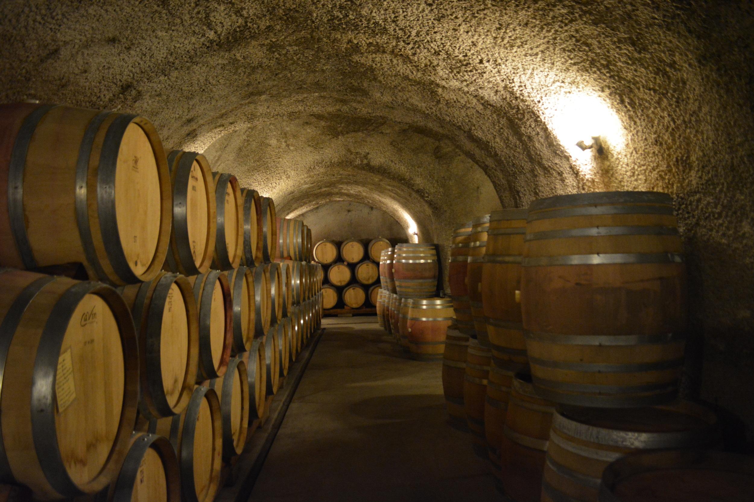Caves at  Robert Sinskey Vineyards  - Photo credit Leslie Rosa