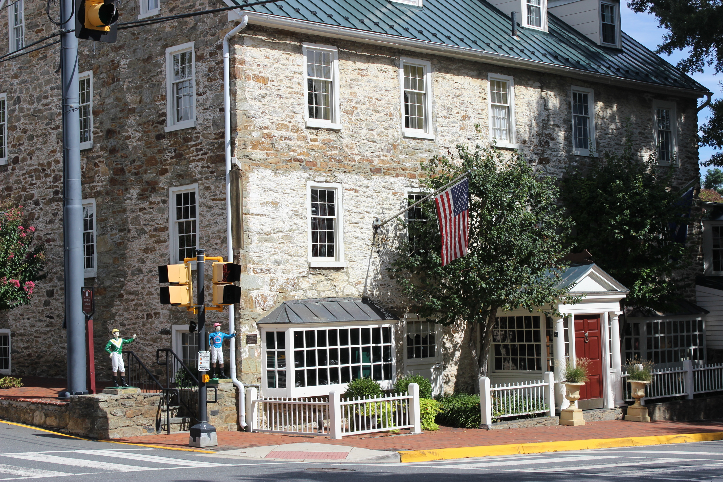 The Red Fox Inn is the nations oldest continually operating inn.