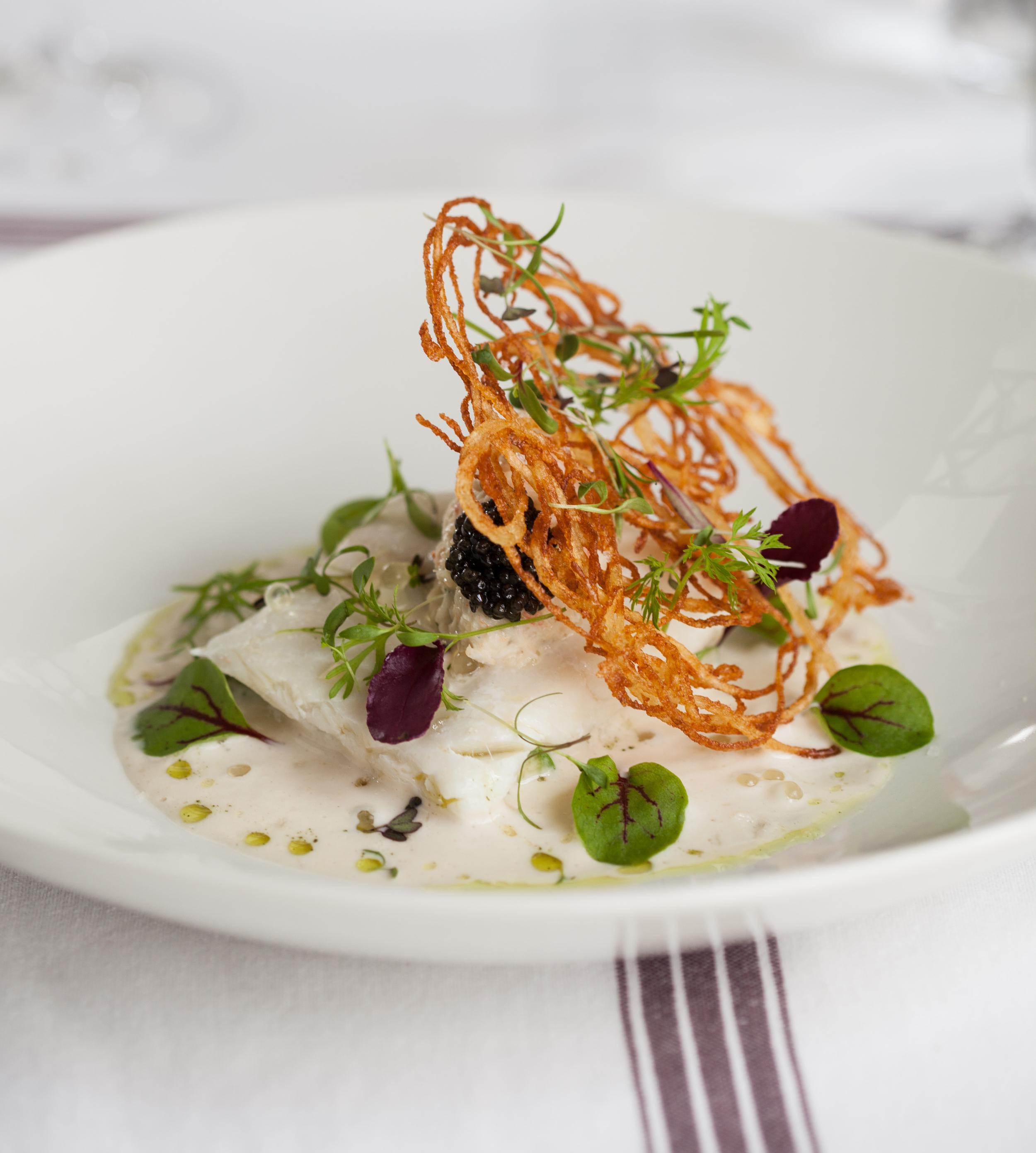 The risotto at  Grande Provence Restaurant