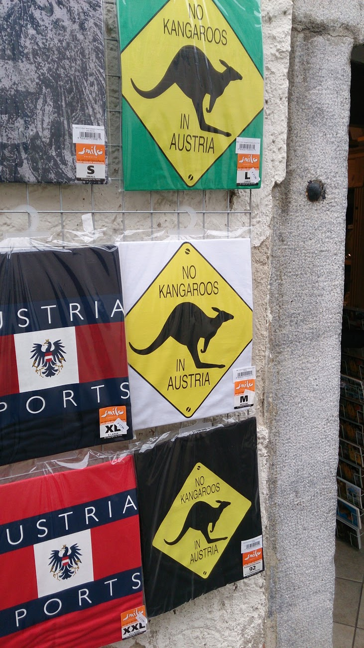 Austria, not Australia!