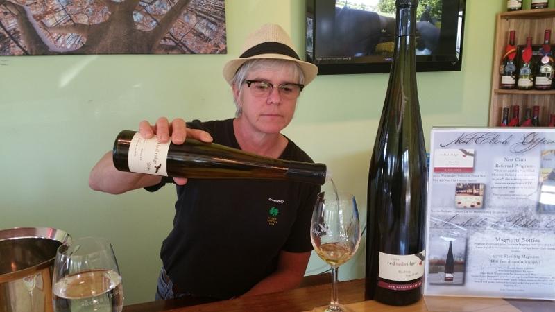 Red Tail Ridge Winery Owner Nancy Irelan