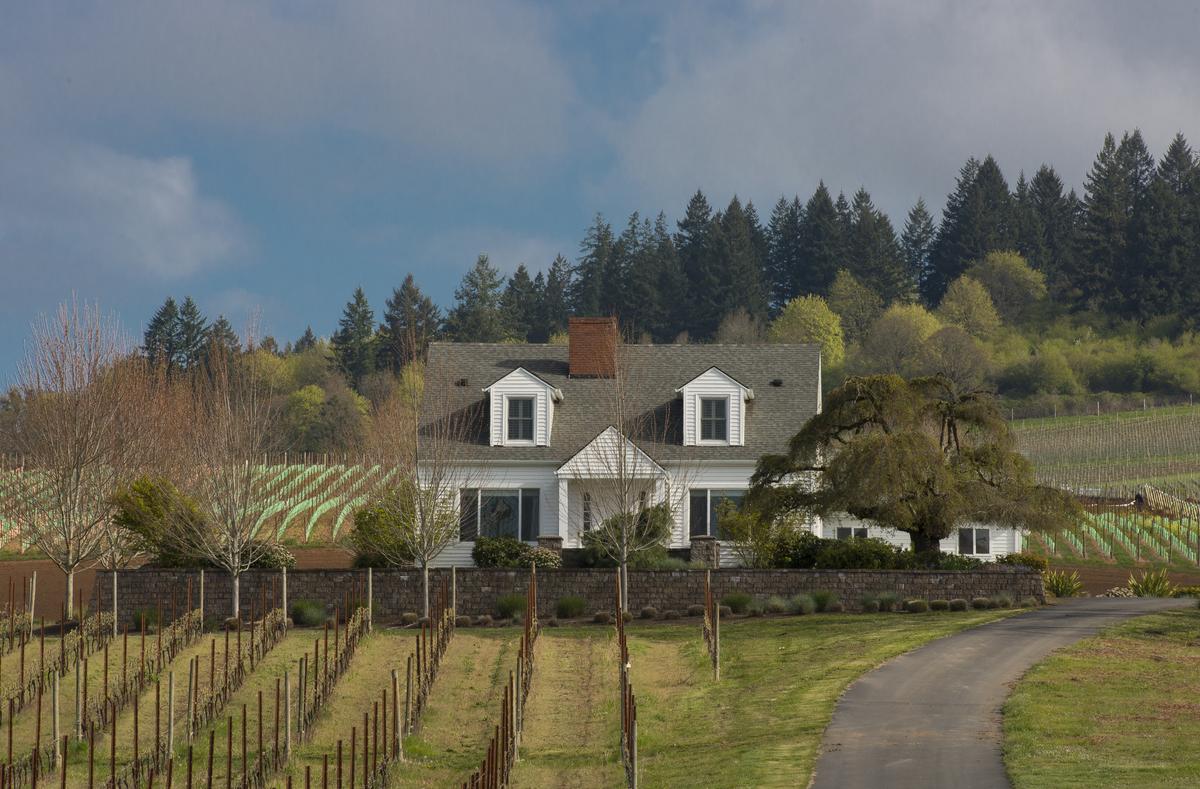 Estate House Stoller Family Vineyards, Credit Andrea Johnson