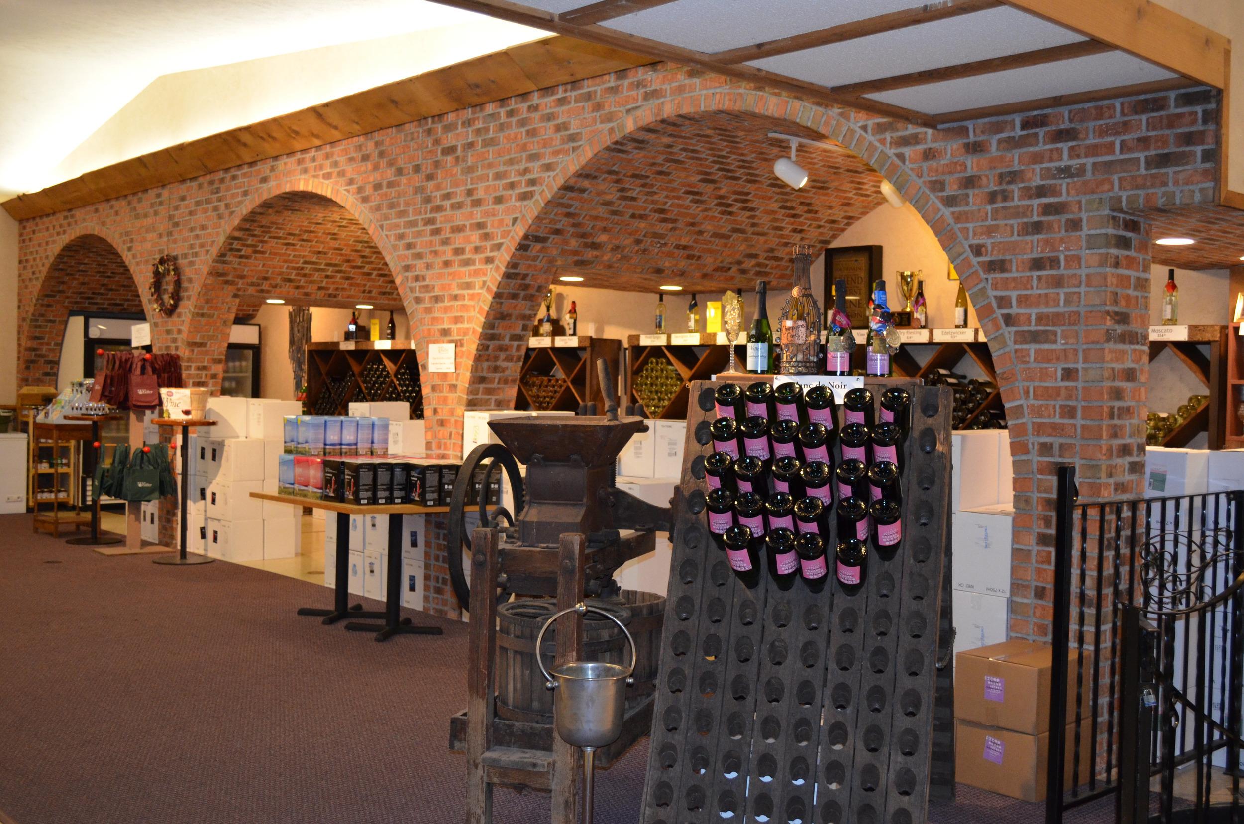 Tasting Room at Fenn Valley Vineyards
