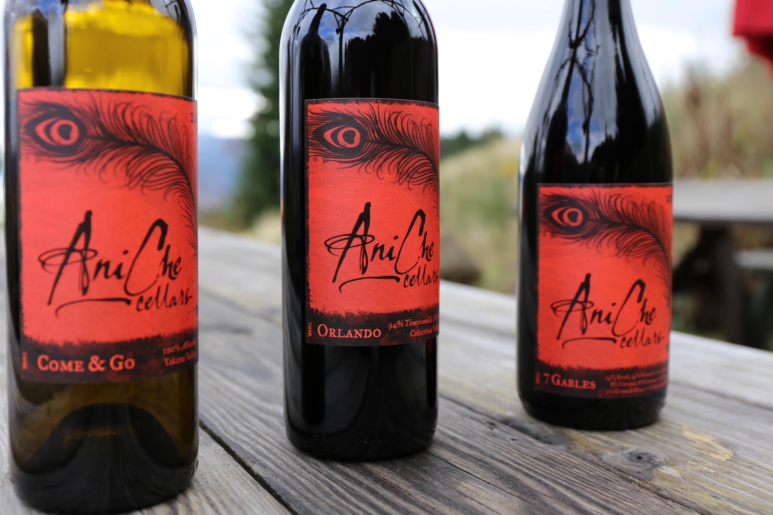 AniChe Cellars wines