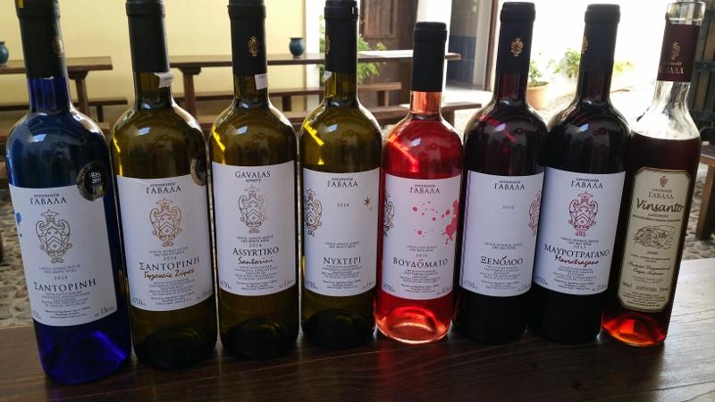 Gavalas Winery Wines
