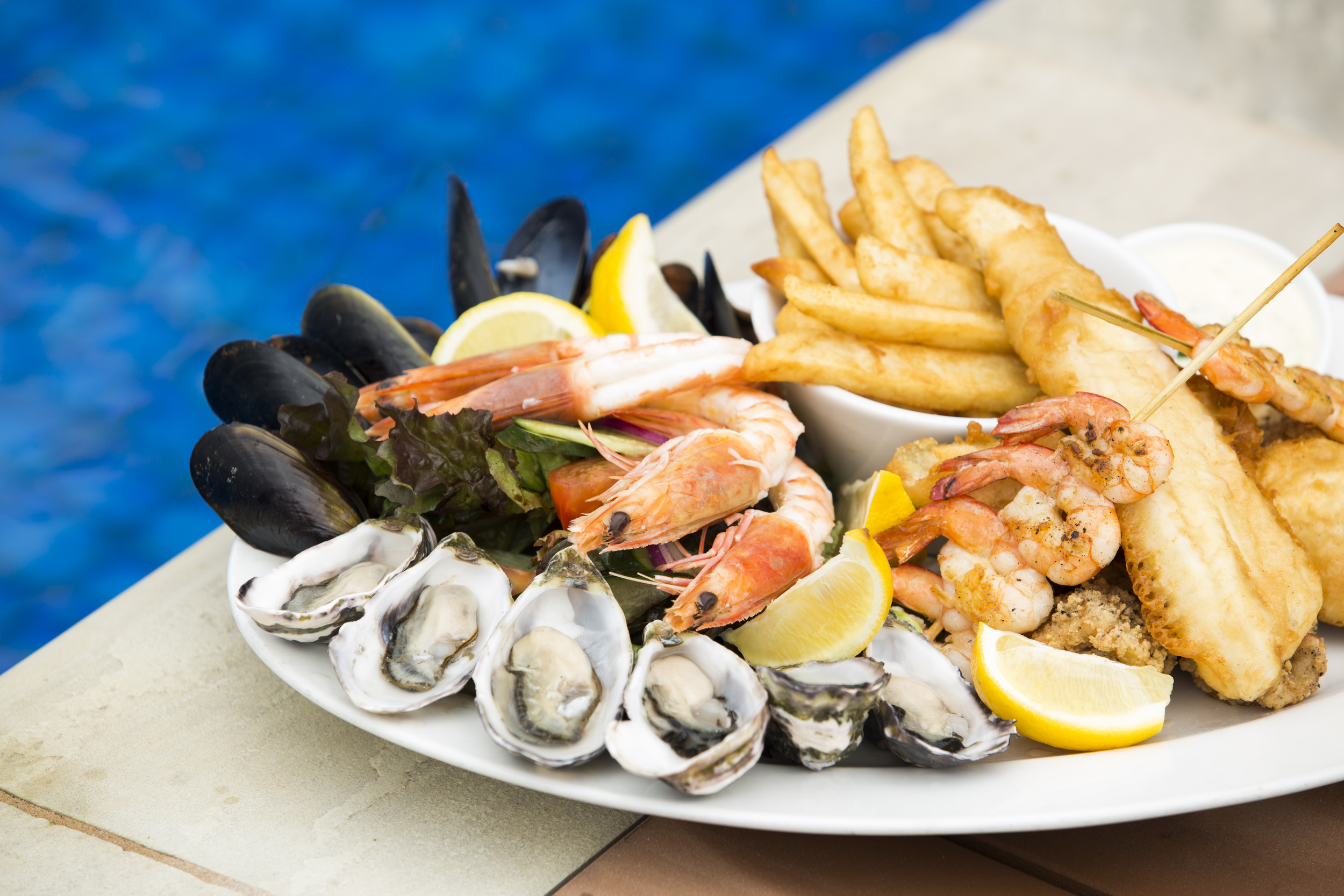 Seafood Tasting Plate at Sarins Restaurant, Port Lincoln Hotel - Photograph supplied by Port Lincoln Hotel.jpg