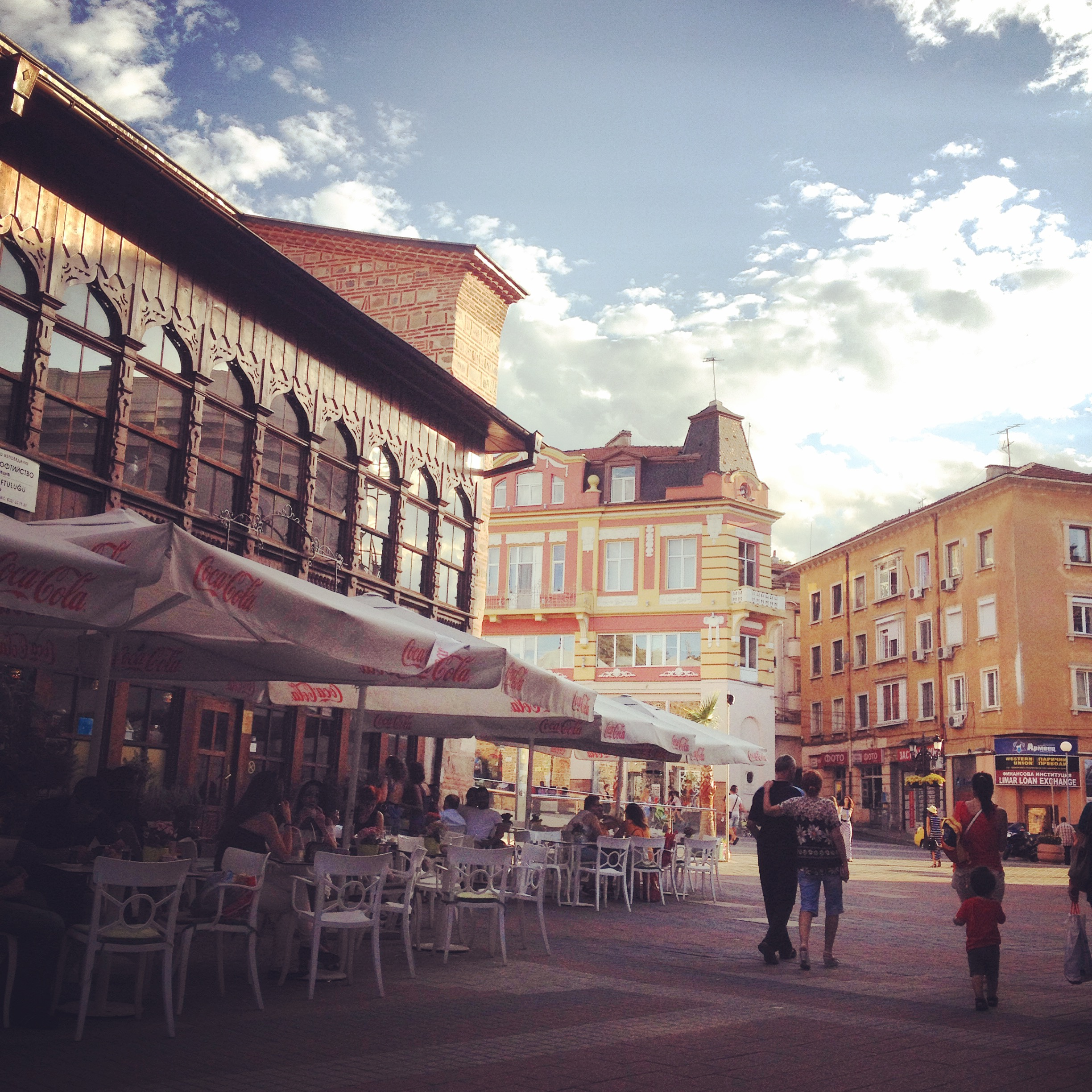 The streets of Plovdiv