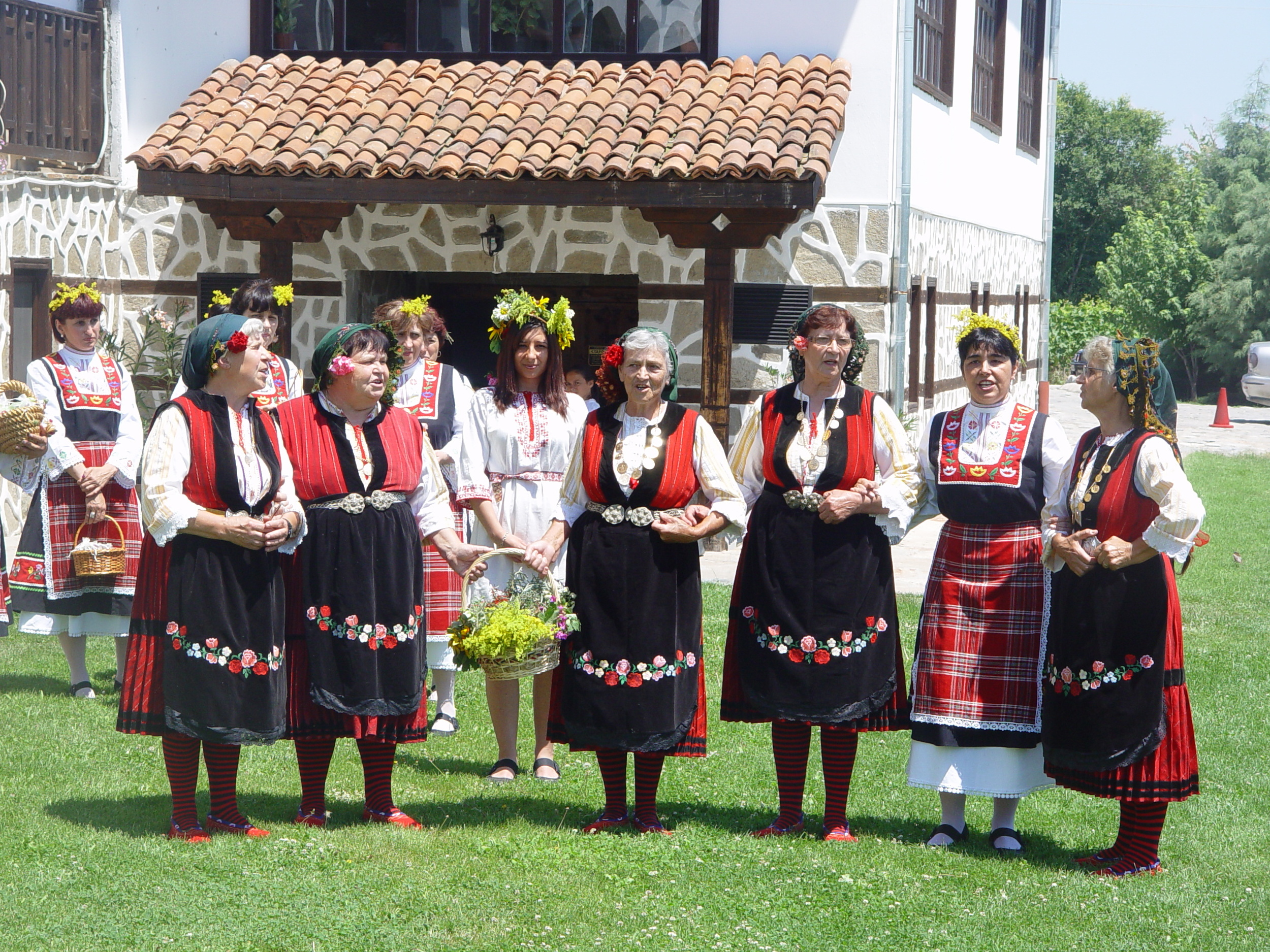Traditional Bulgarian Folklore Costumes