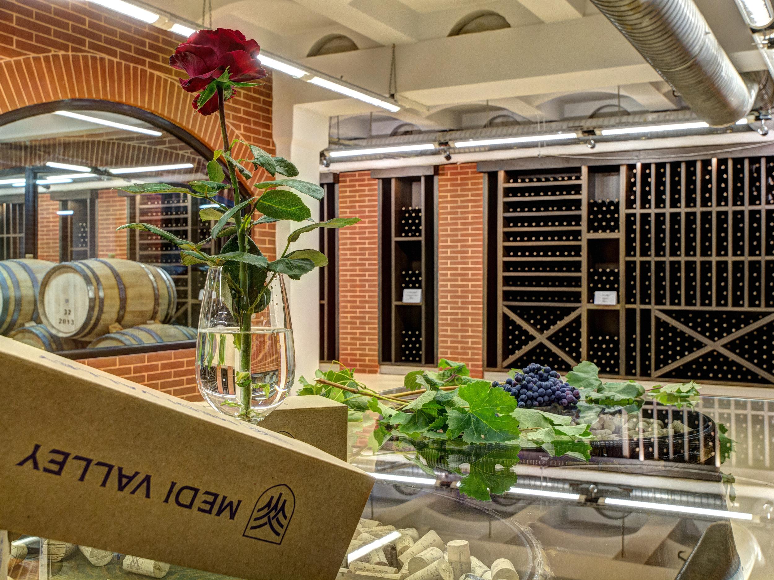 Medi Valley Wine Cellar | Photo Credit: Medi Valley Winery