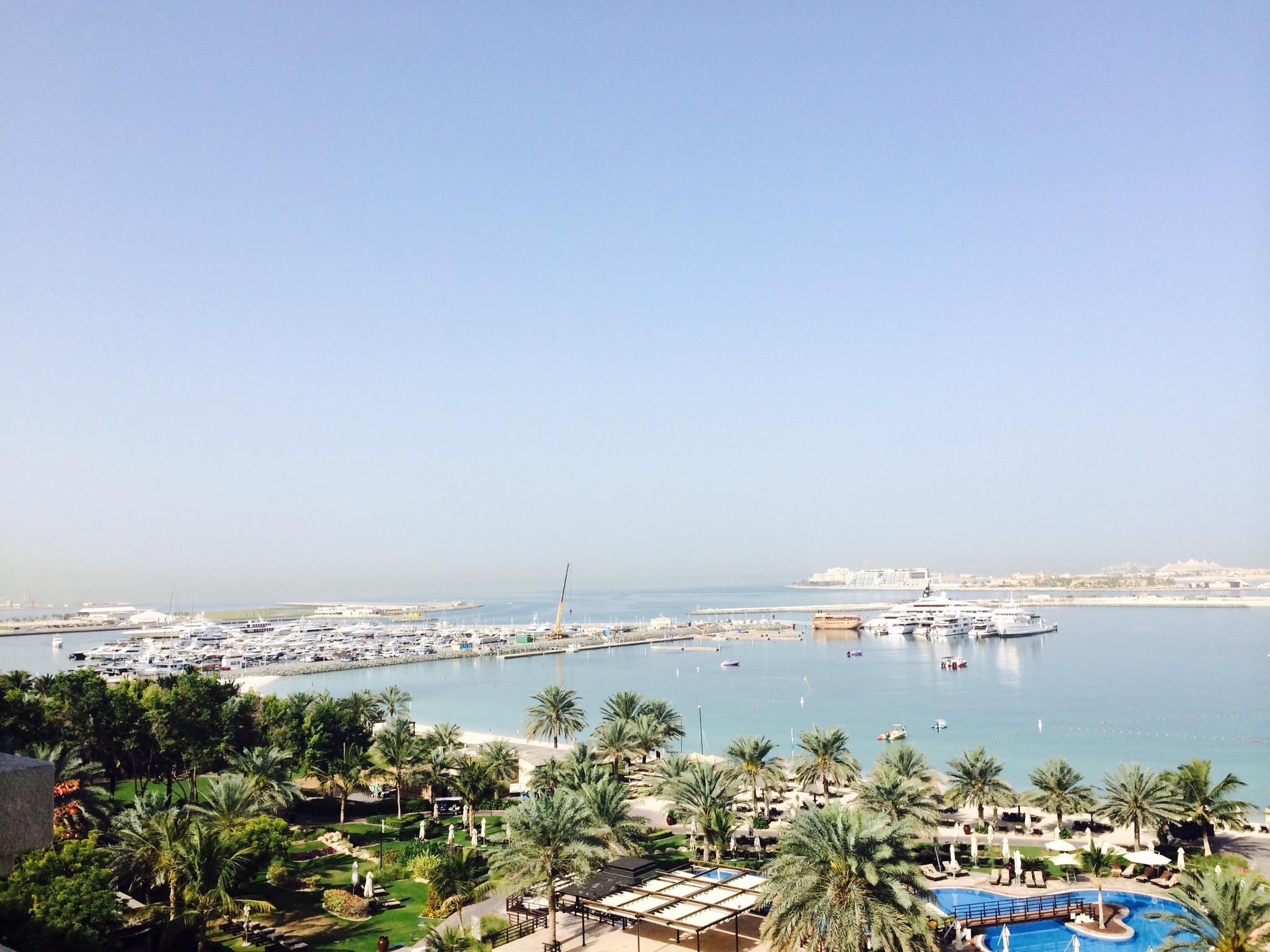Beautiful View of Dubai Waterfront