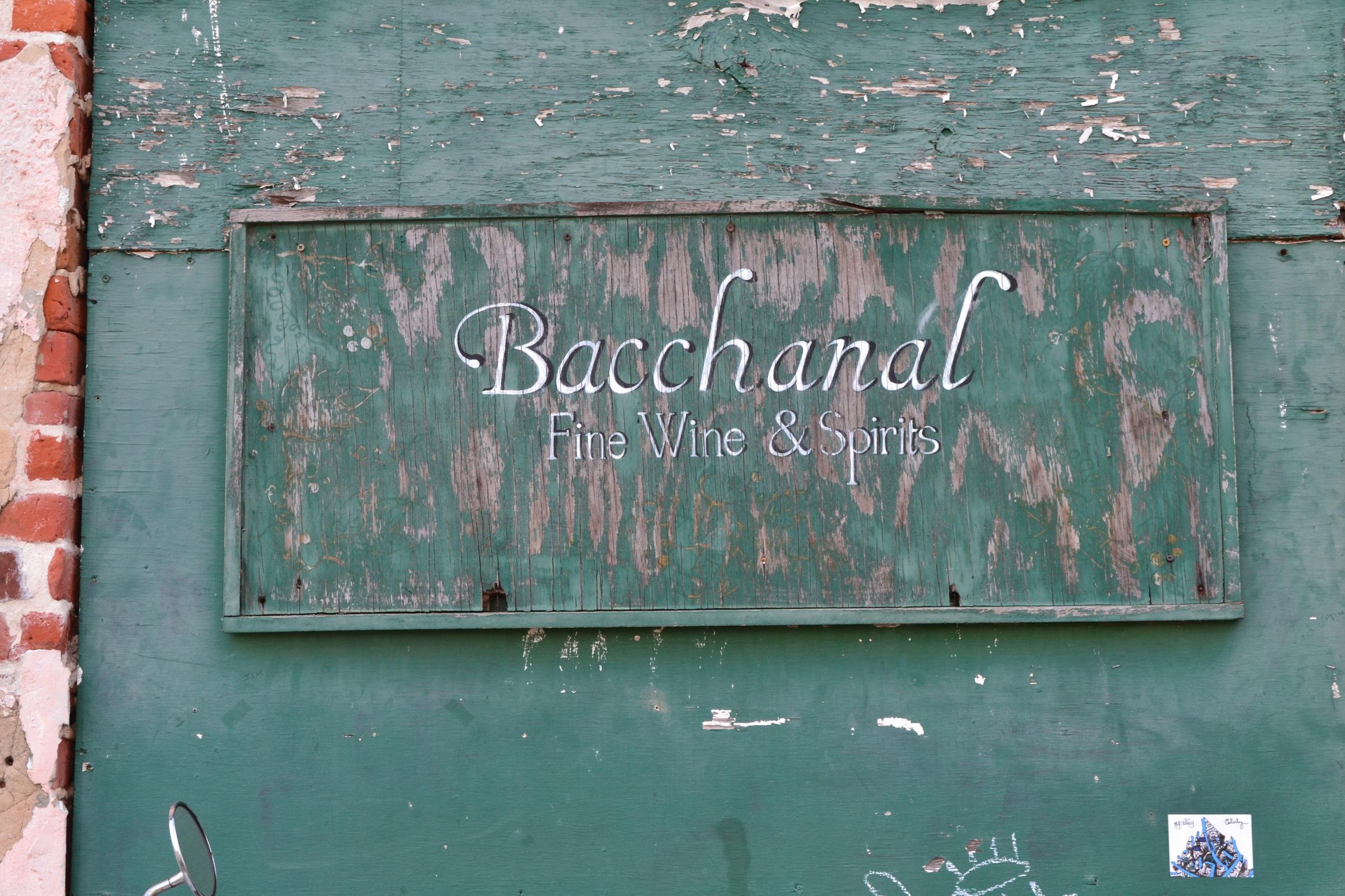 Homey Feel at Bacchanal
