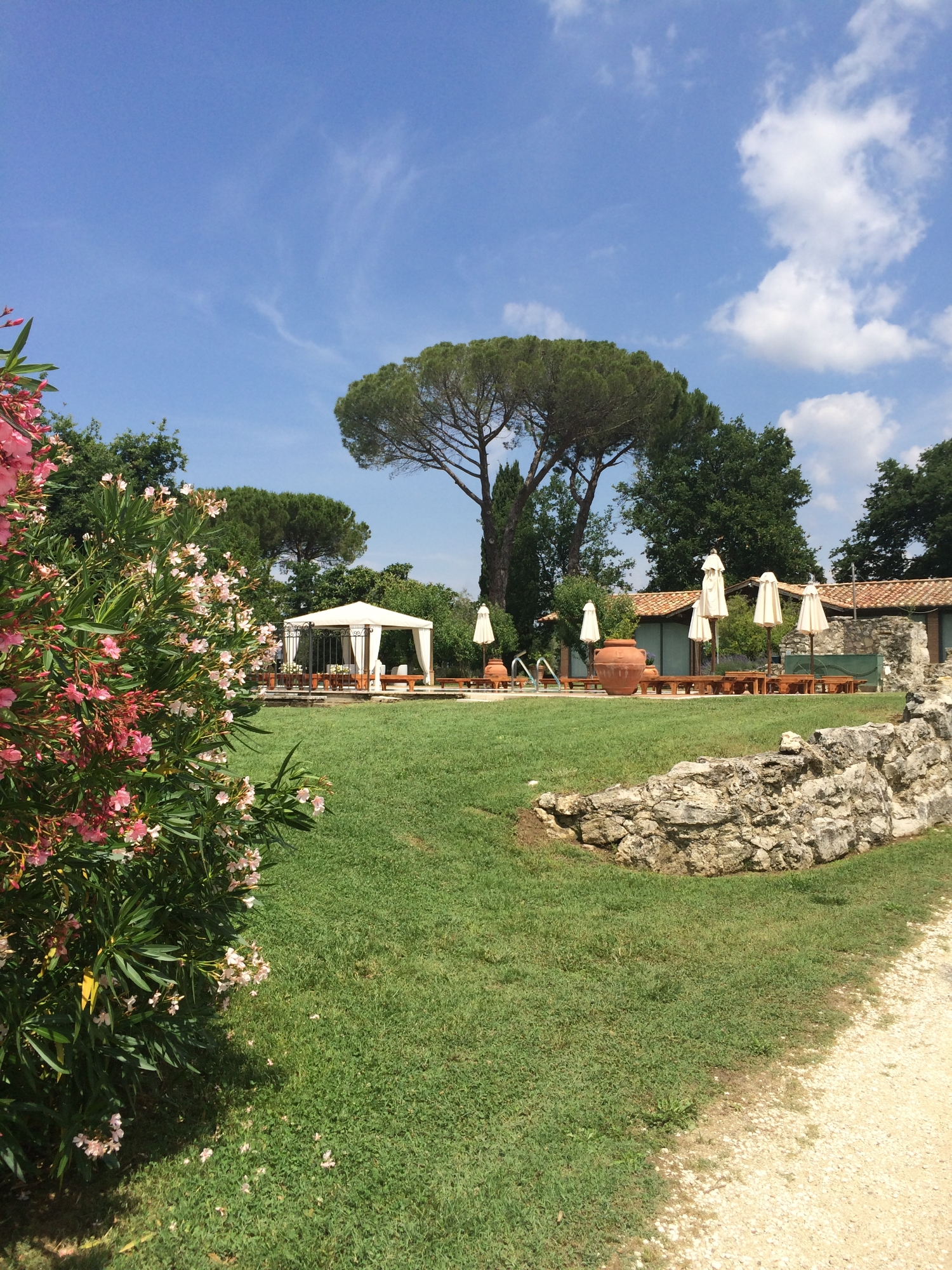 The gardens - Hotel Relais Villa Acquaviva