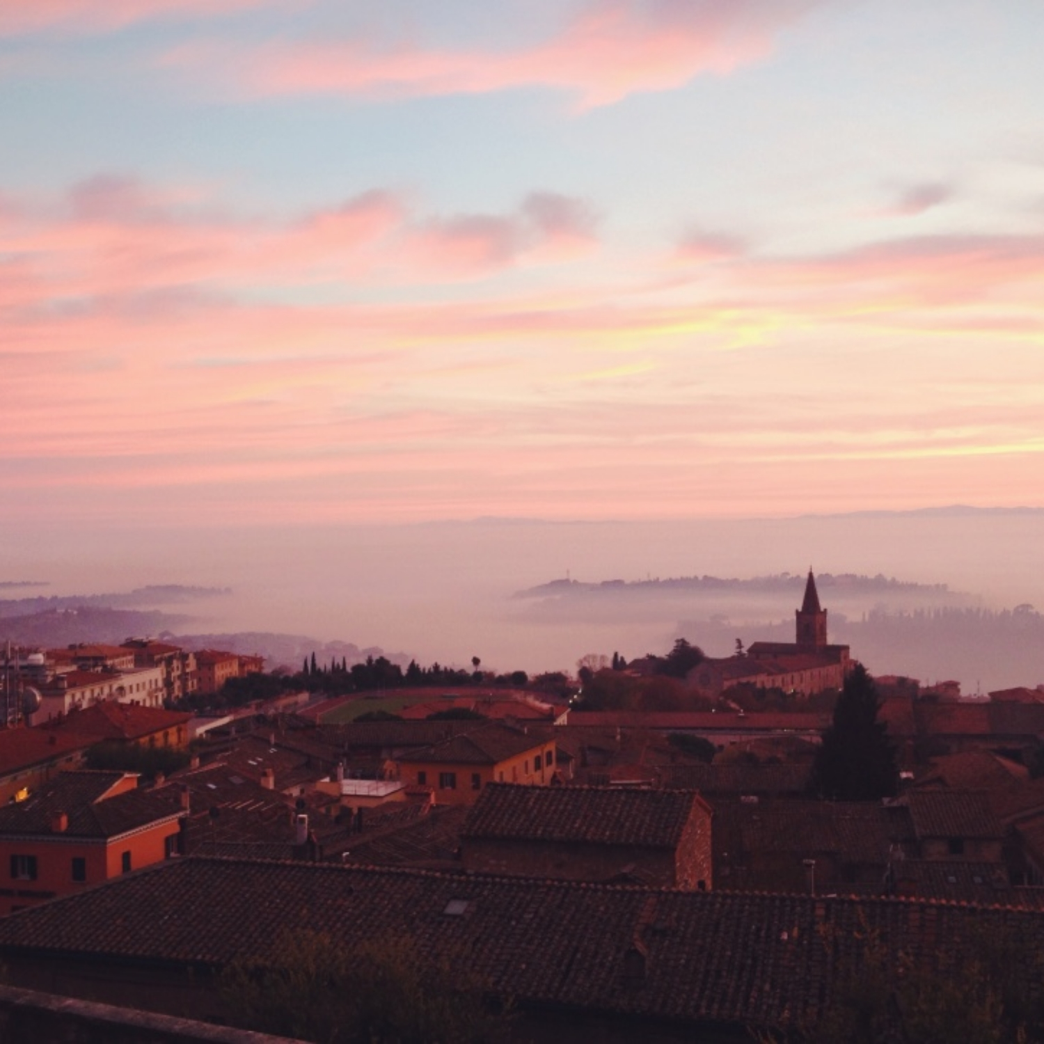 Perugia--This is where my eyes were opened to the greater world of wine and my passion for travel grew exponentially.