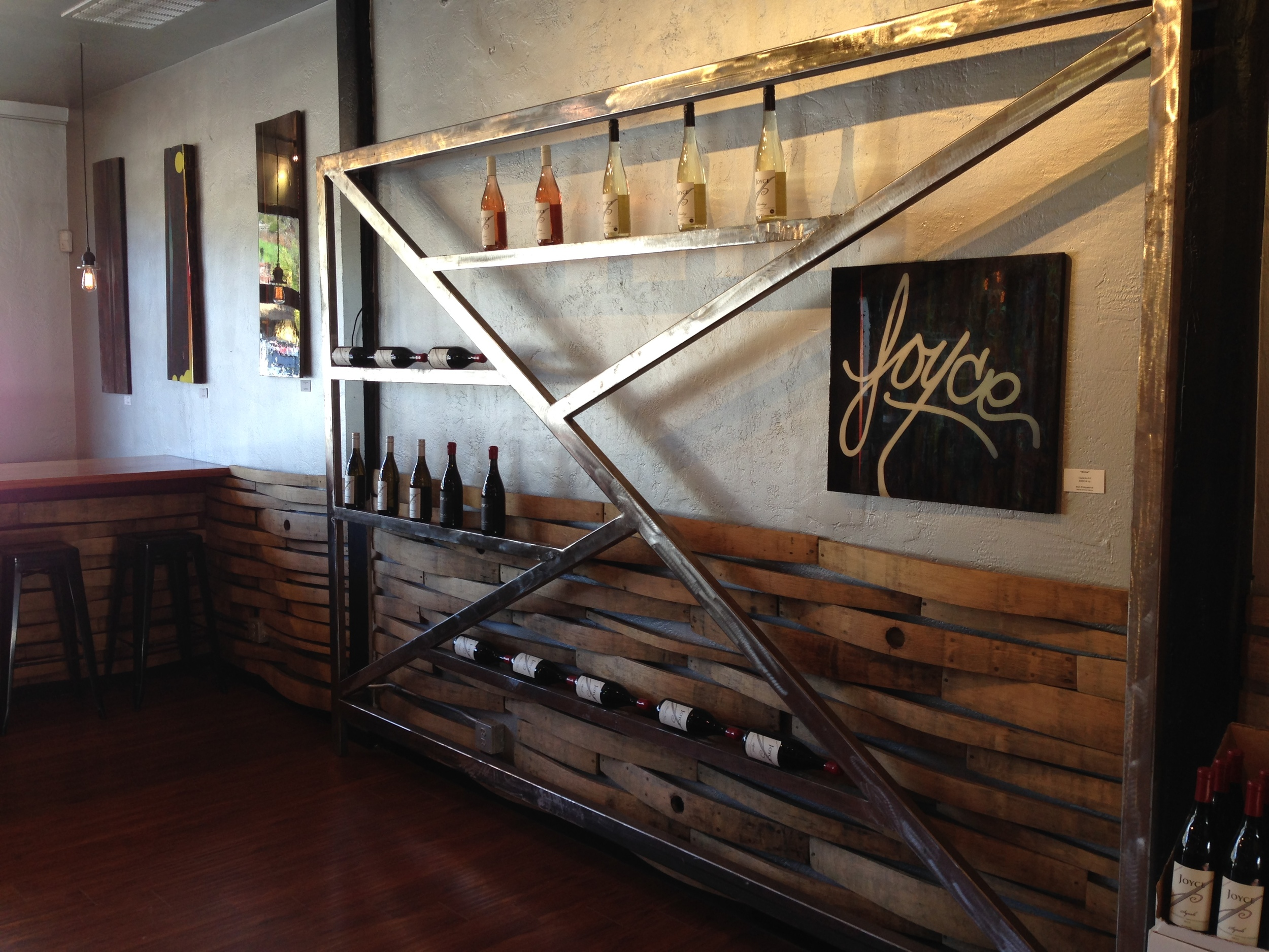 Tasting Room at The Joyce   Photo credit Gabriel Manzo