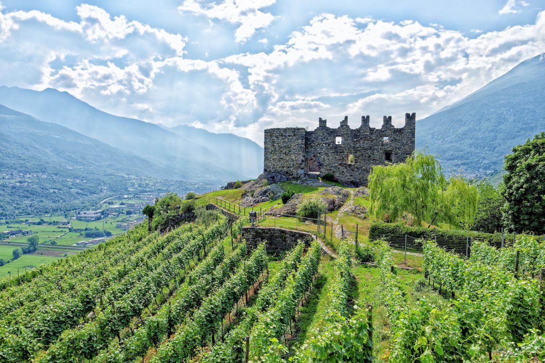 Castel Grumello - Montagna In Valtellina