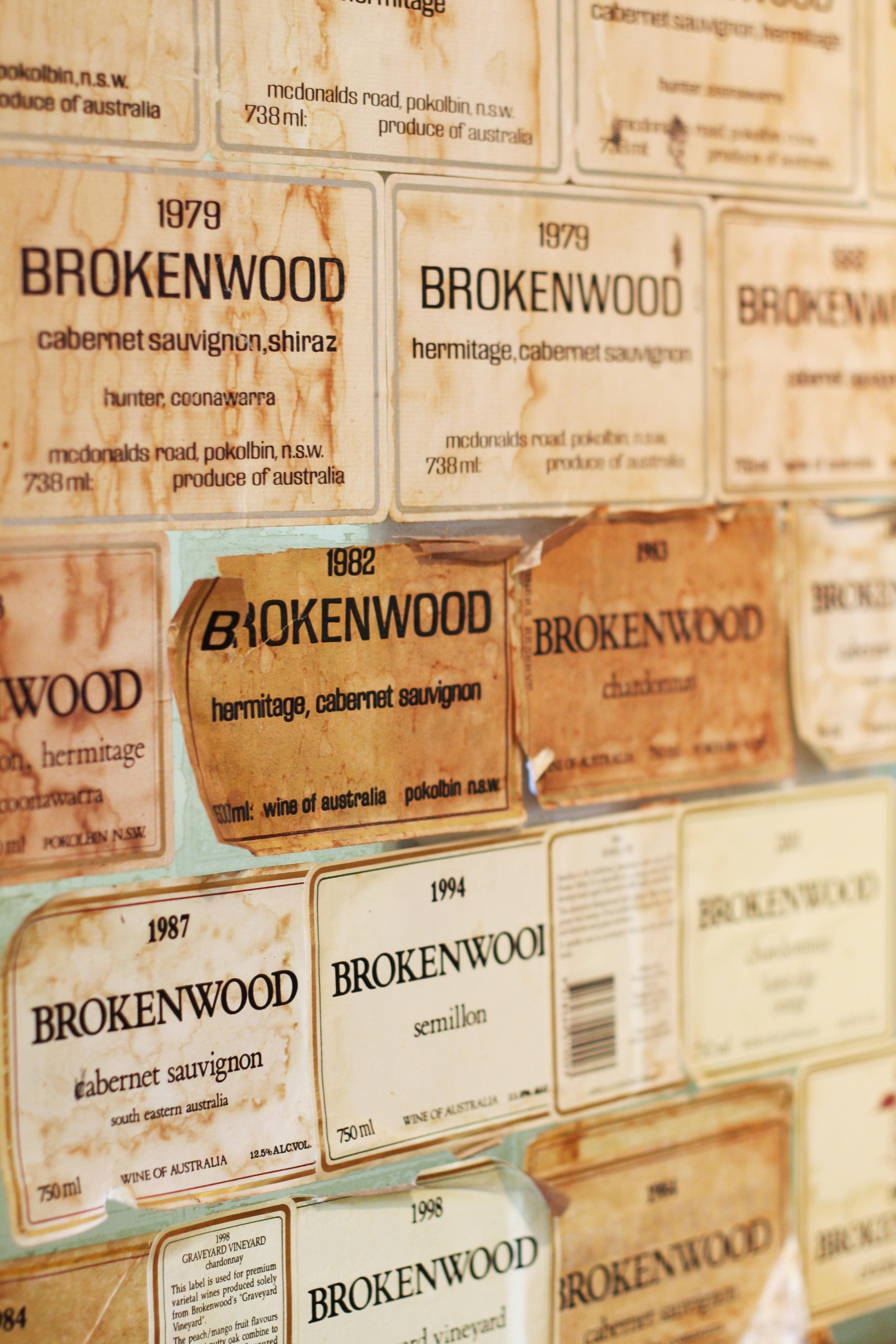 Brokenwood Old Labels_Credit Brokenwood.jpg