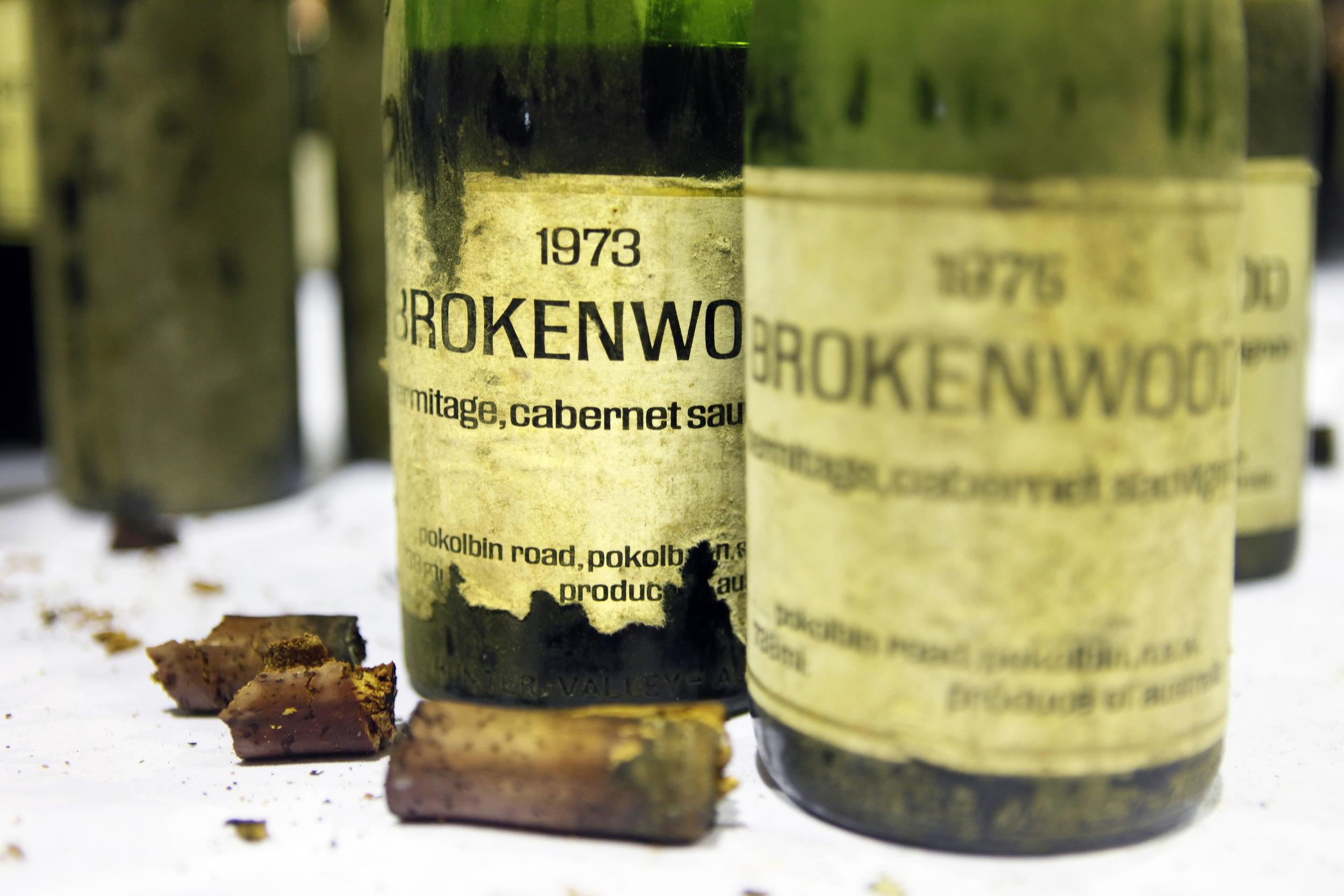 Brokenwood Old Vintage Bottles_Credit Brokenwood.jpg