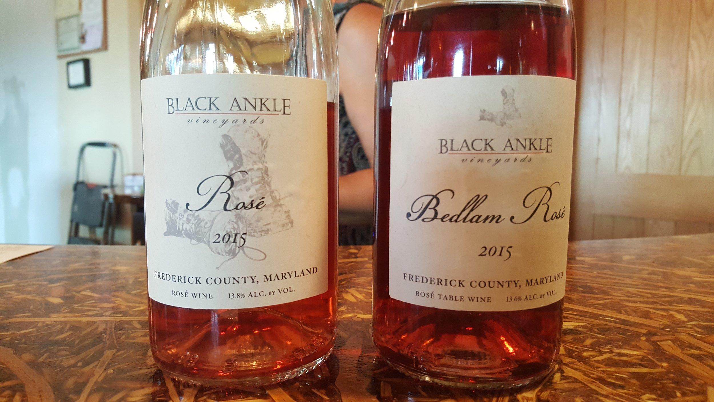 Black Ankle Vineyards Wines