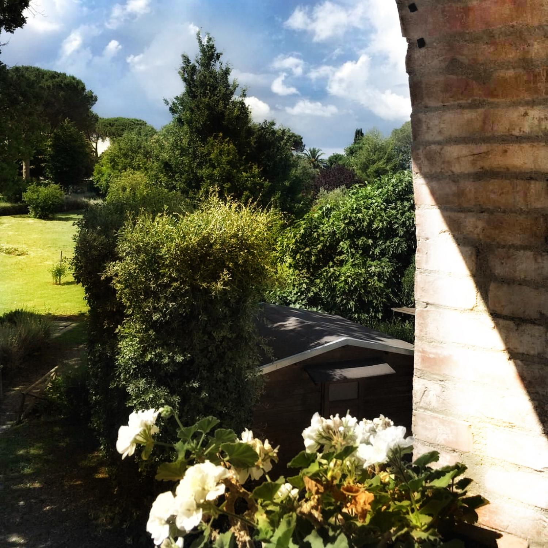 Room with a view, hotel Villa Acquaviva, Maremma, Tuscany, Italy