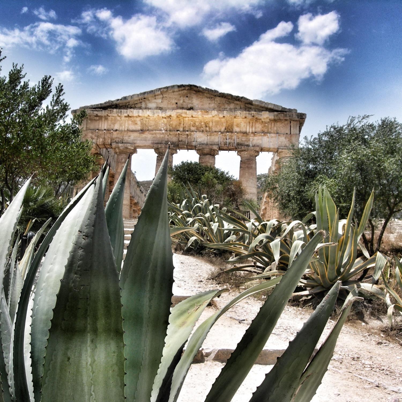 Doric Temple in Segesta, Sicily, 5th century BC