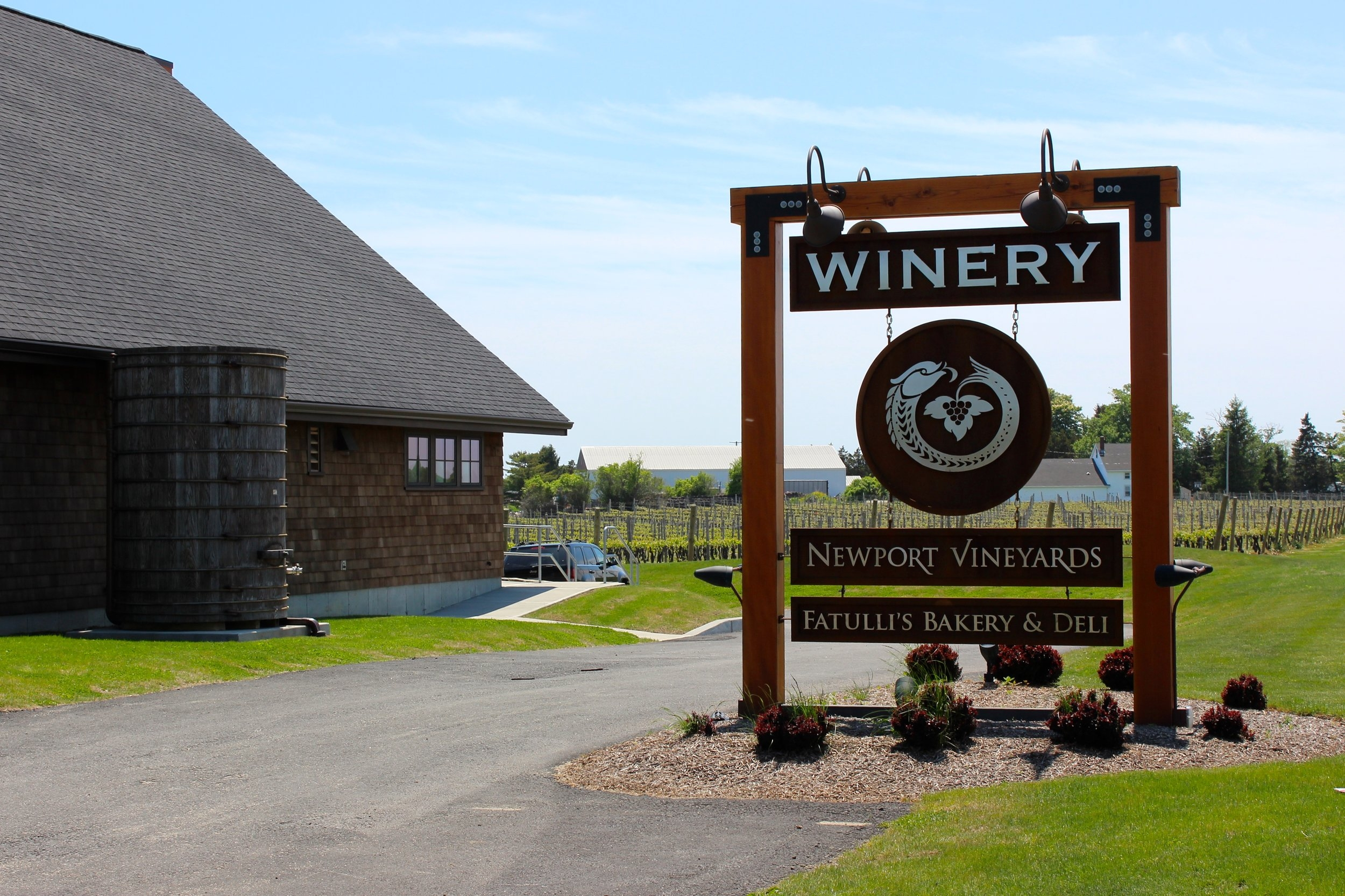 Newport Vineyards, Rhode Island
