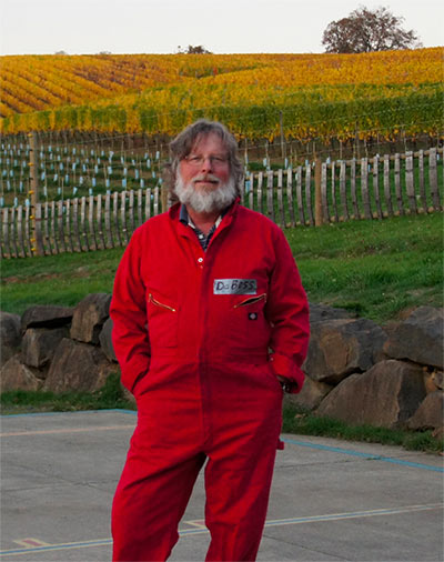 Brian O'Donnell of Belle Pente | Photo Credit Belle Pente Vineyard and Winery