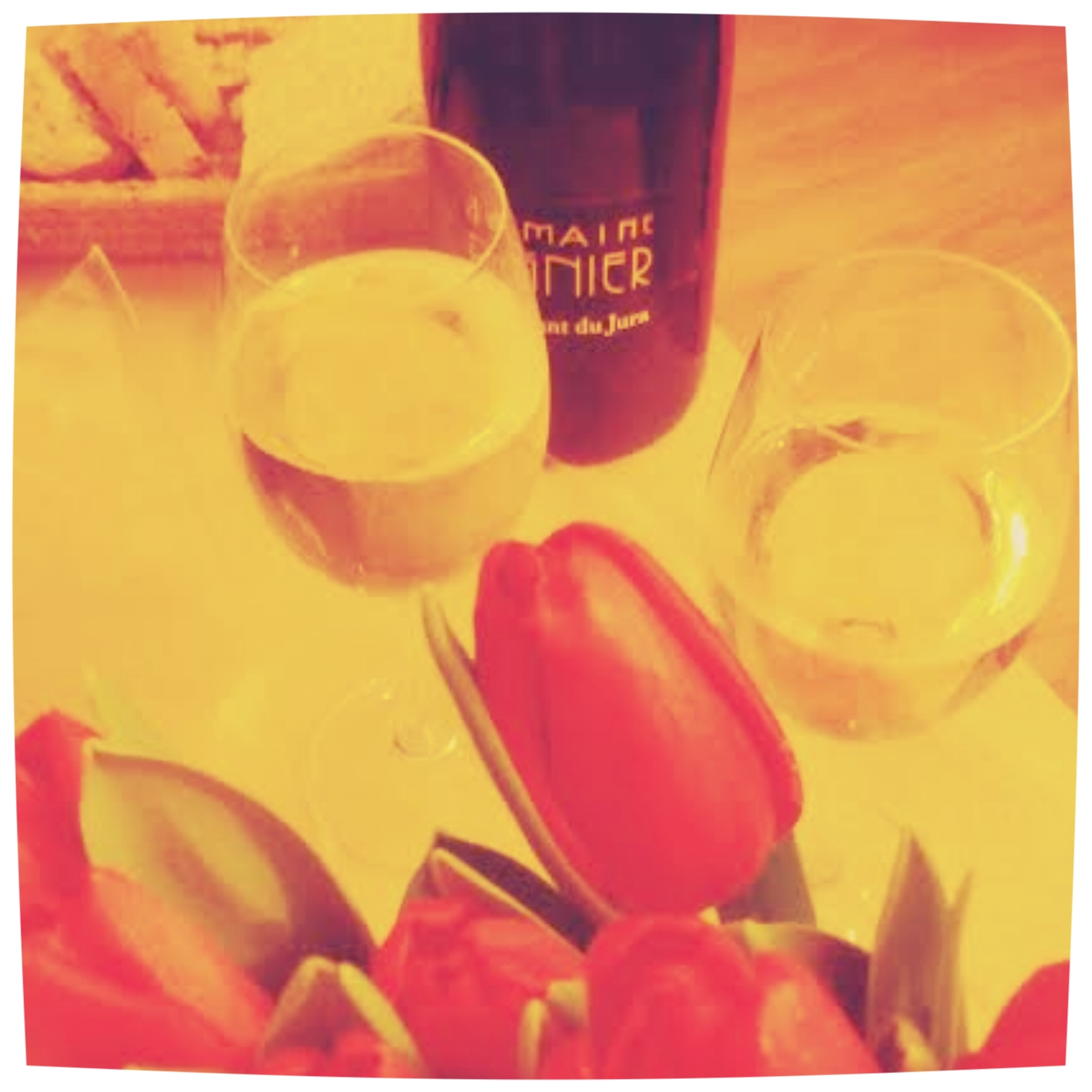 Sharing wine as sharing love… Last lovely night before my first steps on the wine roads in South America