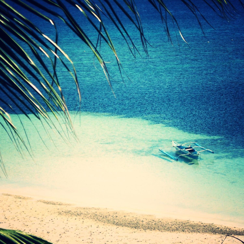 One summer day in Camotes Island, Cebu.