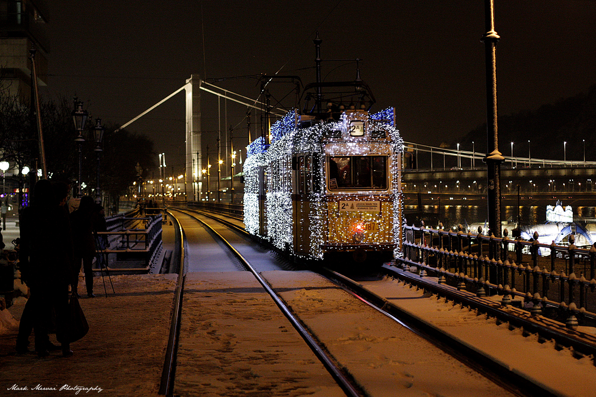 Christmas Light Tram