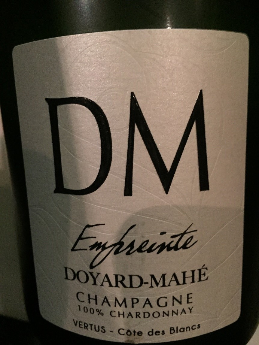 Doyard-Mahe DM Emfreinte Champagne, Vertus, Cote des Blancs.jpg
