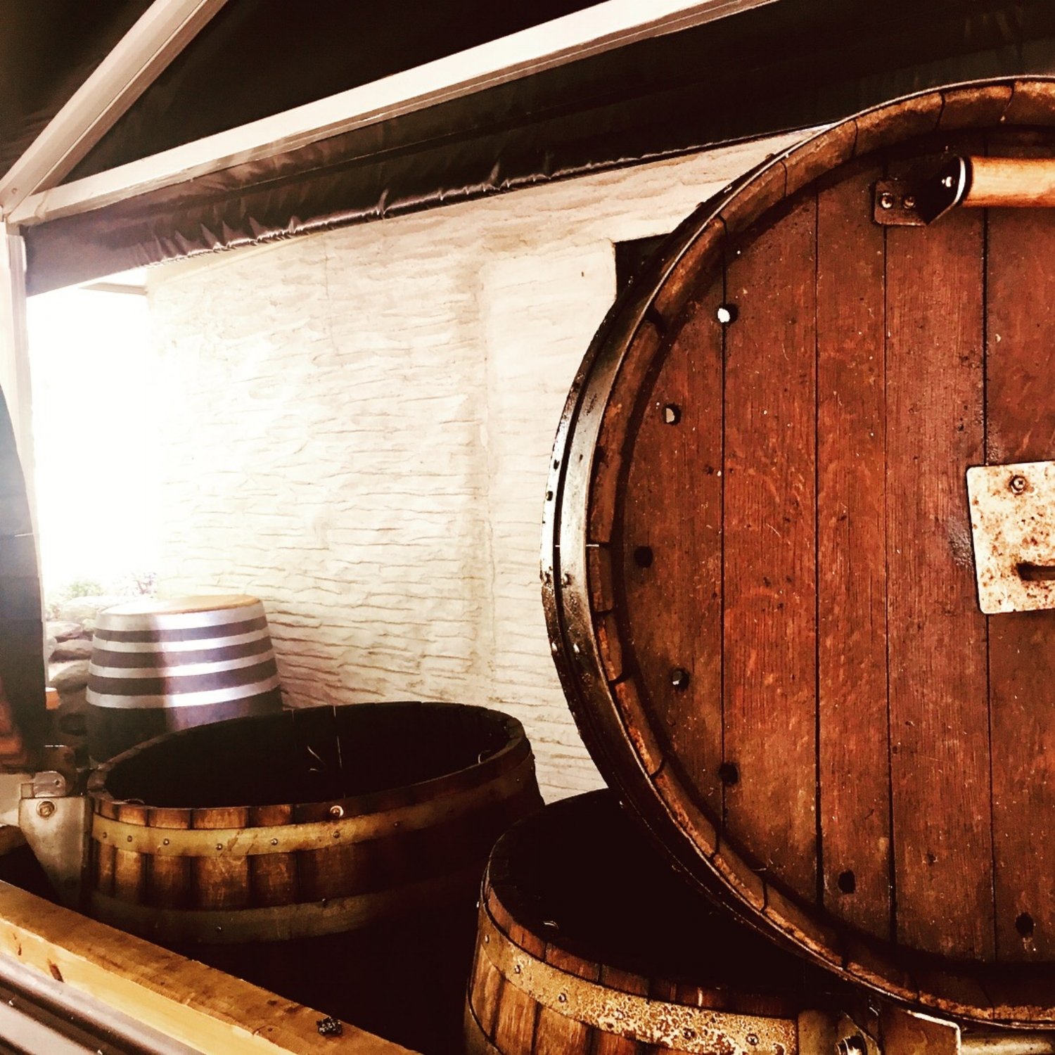 Smokin' new ideas: Wine Barrel turned BBQs, imagine that flavour profile for a minute!