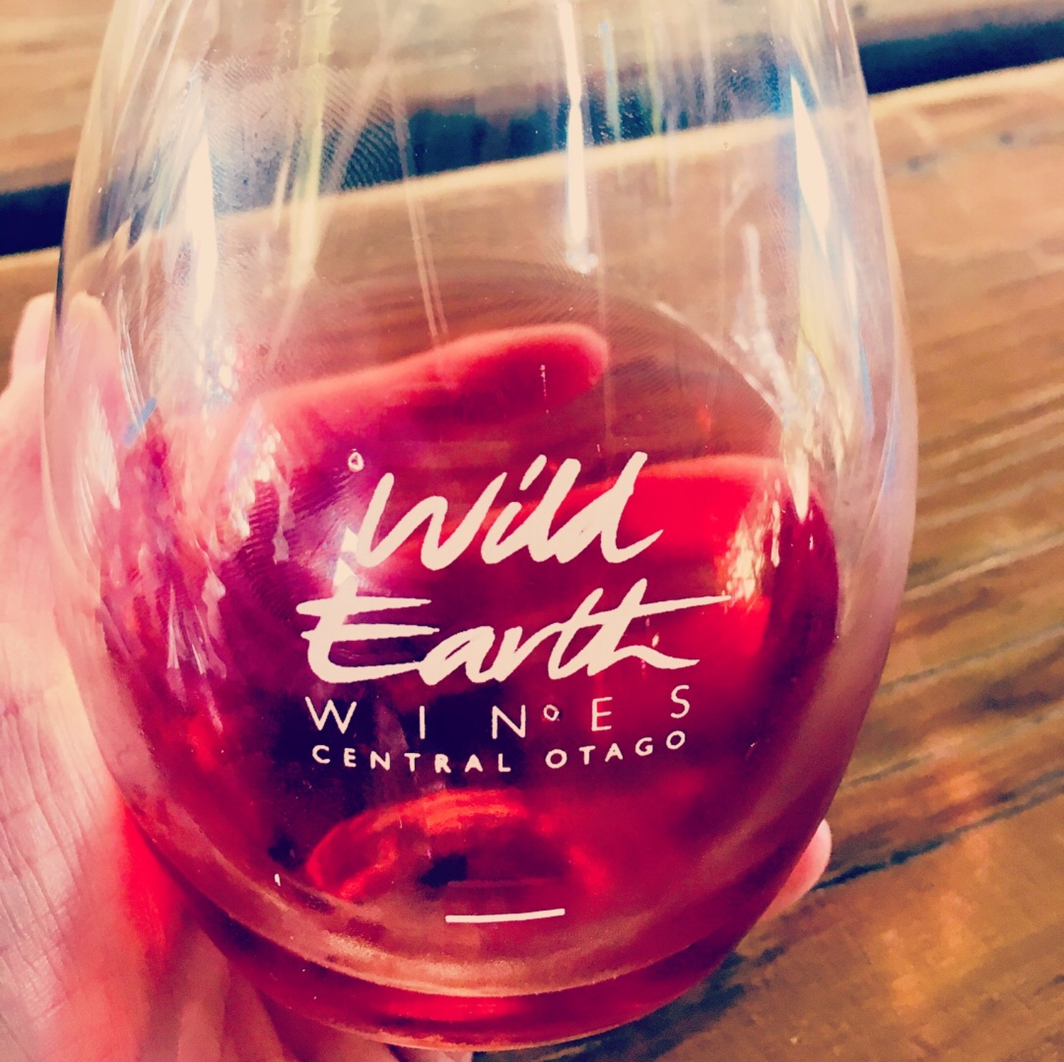 Wild Earth 2017 Rosé. Blended: 30% Pinot Gris / 70% Pinot Noir 100% Cherry-licious!