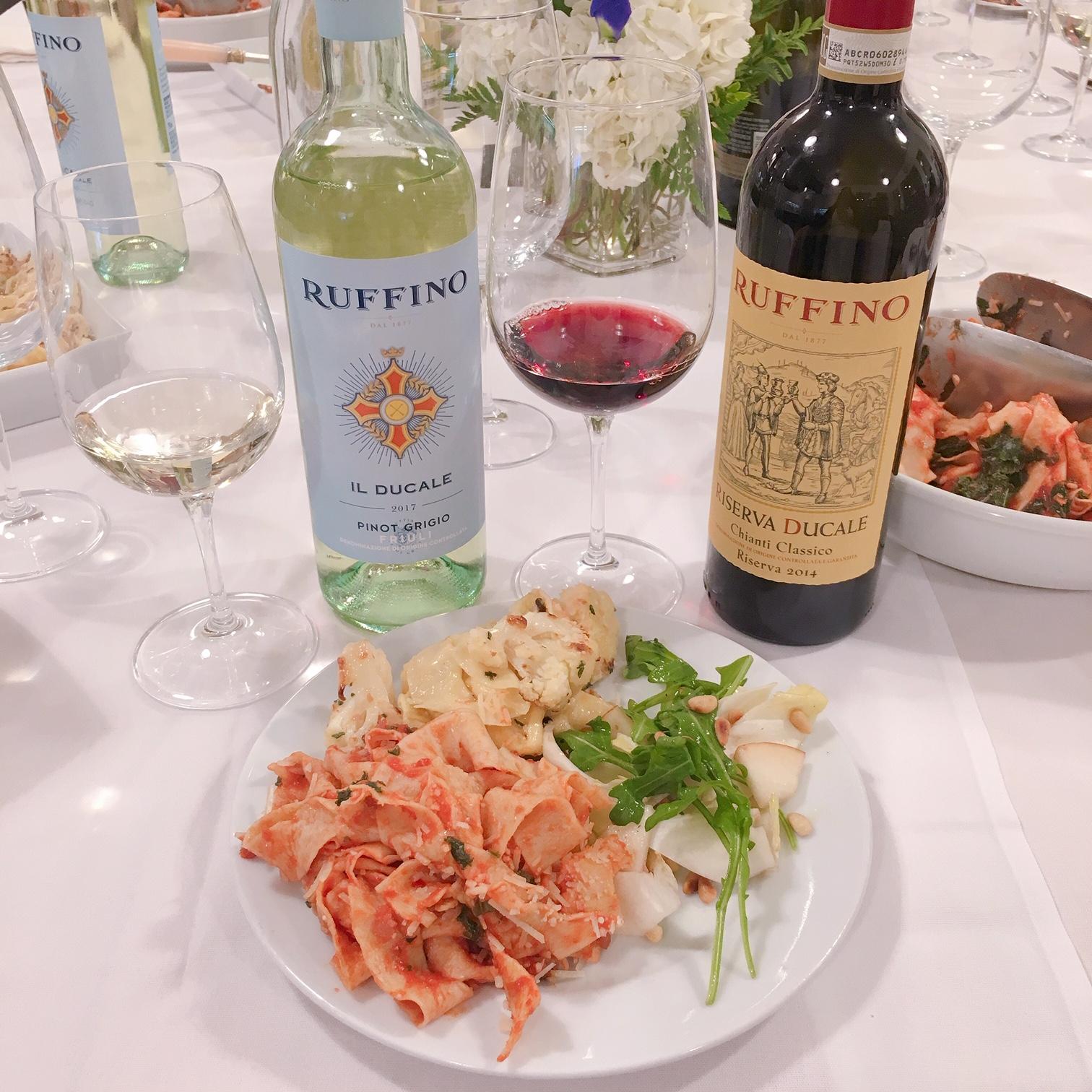 Ruffino Winery and pasta making cooking class