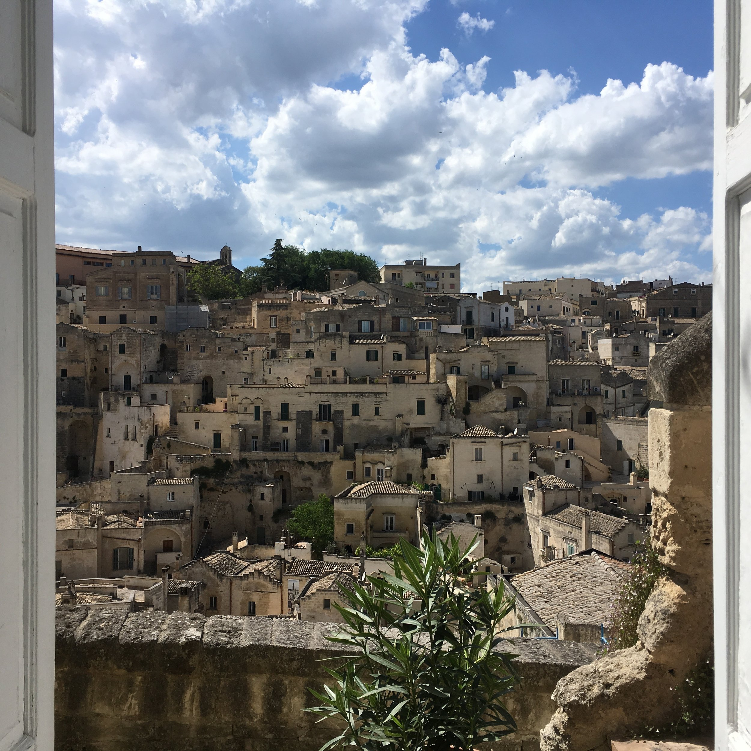 Another stunning view of Matera
