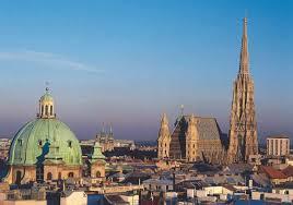 The Vienna skyline