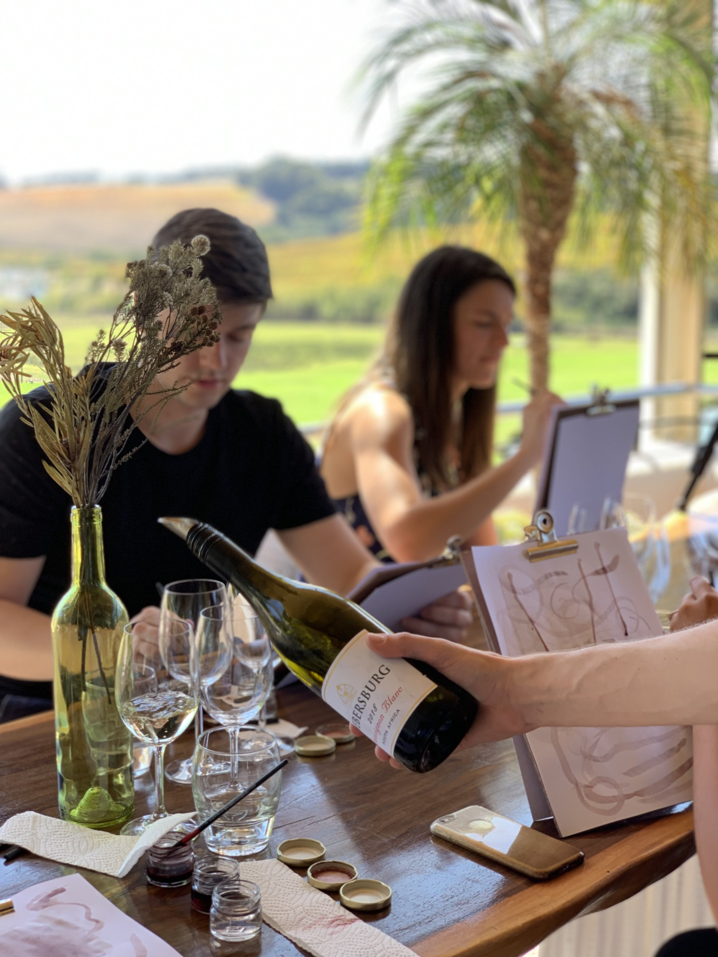 The experience includes a tasting of 3 premium Webersberg Wines