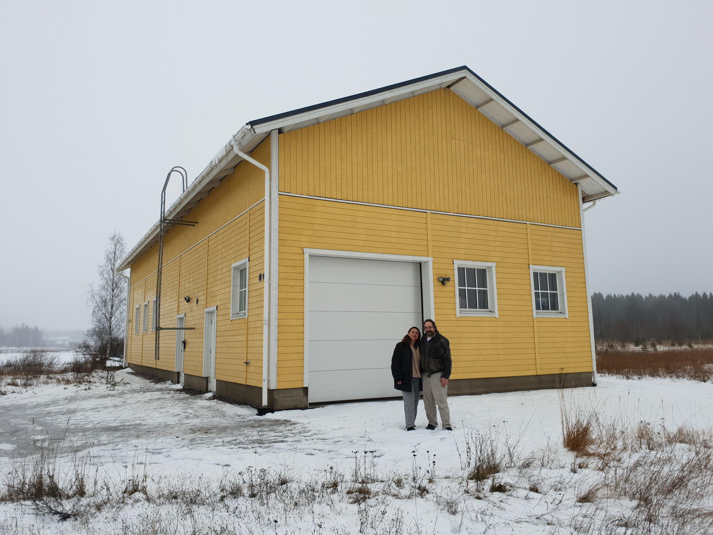 The new home for Ainoa Winery in Hollola, Finland.