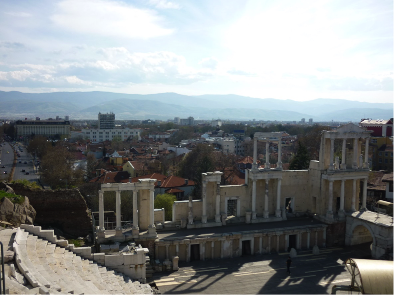 Ancient Roman Theater.