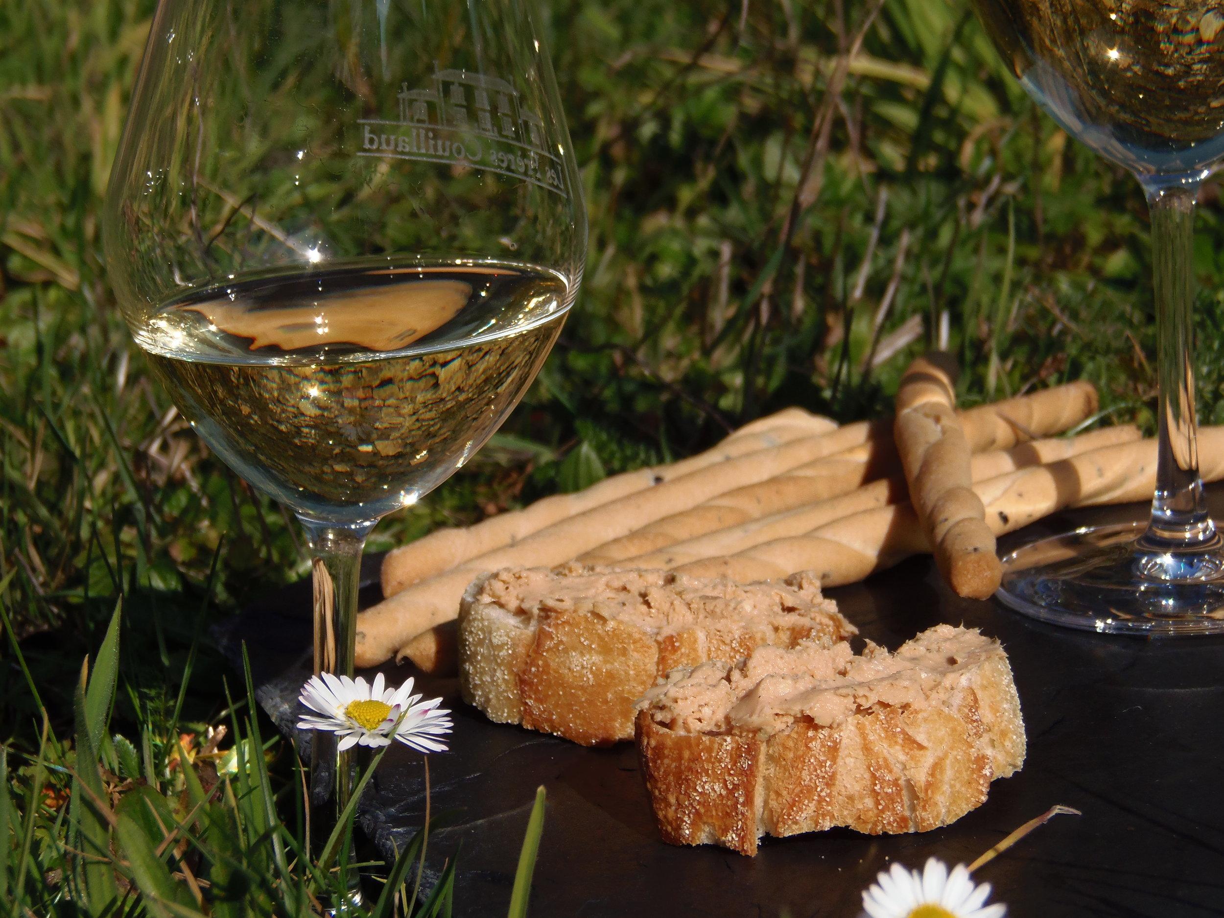 Wine tasting/food pairings