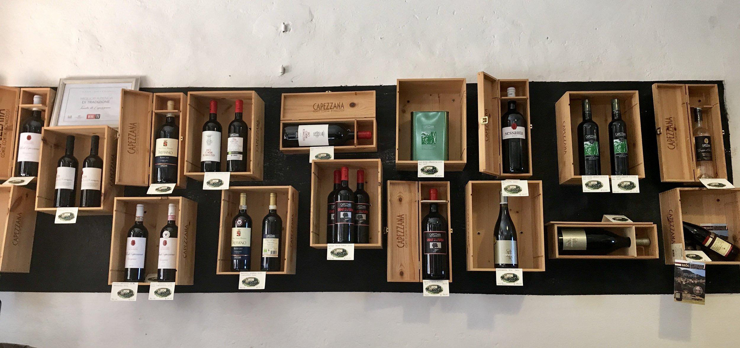 Capezza wines