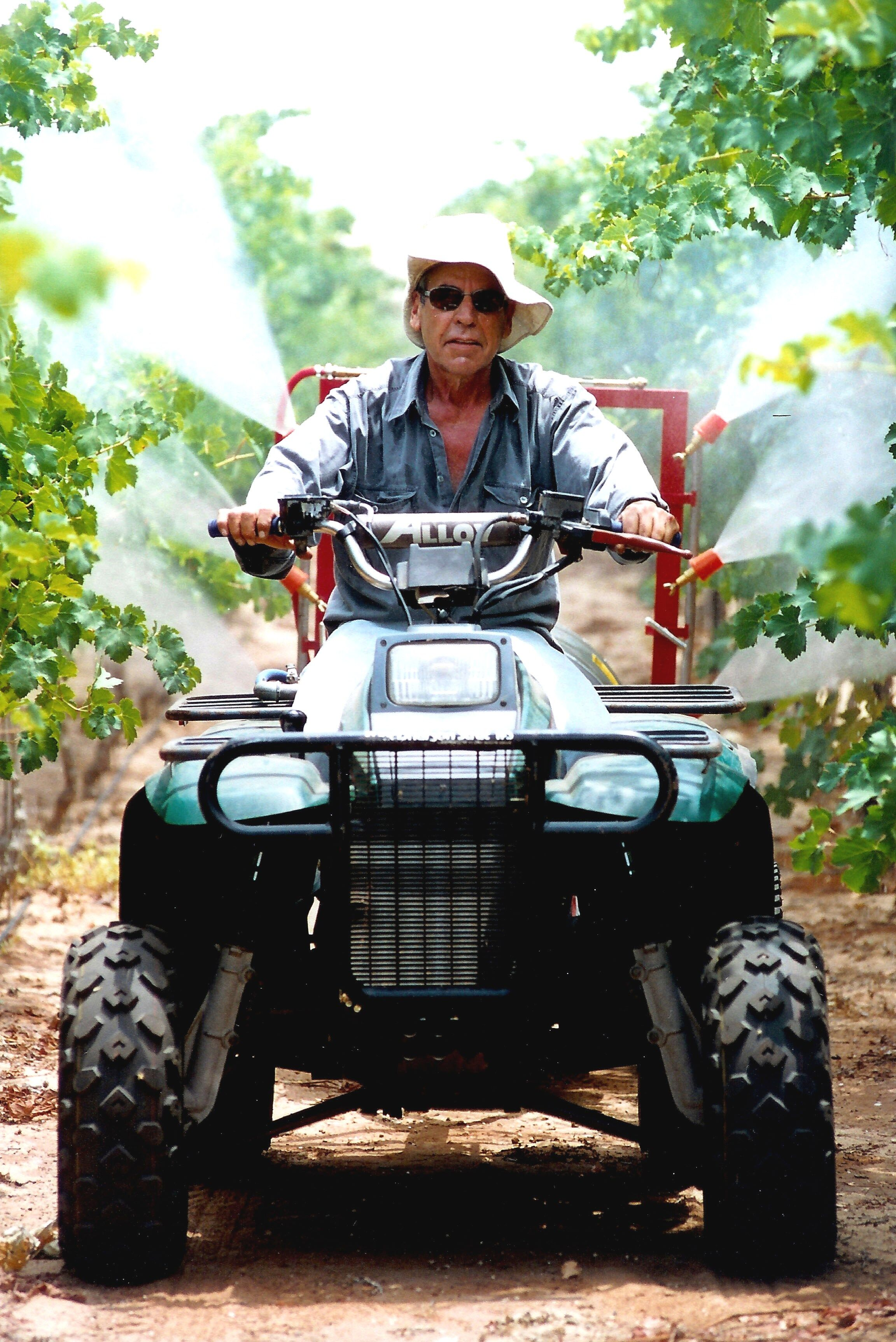 Dr. Yair Margalit  He was a scientist, (in physical chemistry), until he quit his scientific activities and started a second phase of his life as grape grower and wine producer. ( https://margalit-winery.com/en/the-team/ )