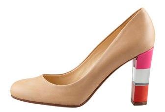 Kate Spade lucite heel.