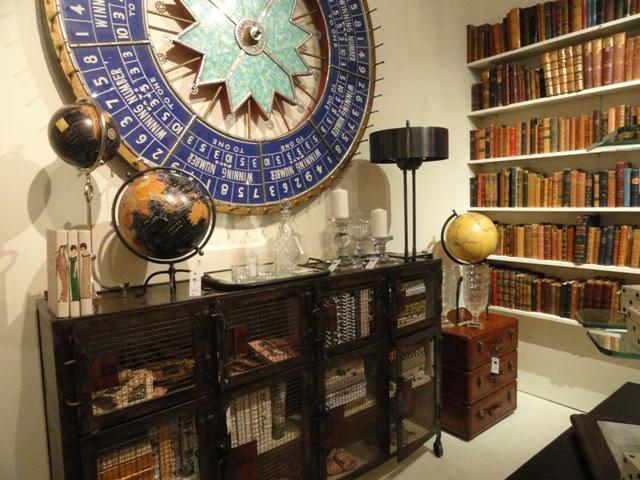 Lots of creative uses of books. Photo: Wrenda Goodwyn.