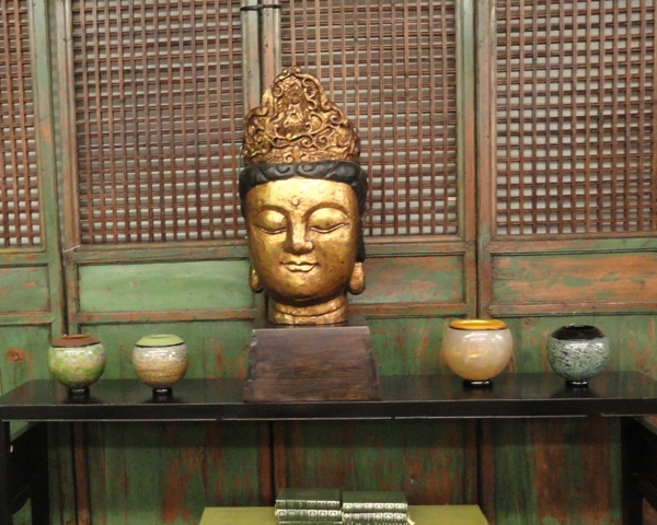 Popular Buddha is incorporated into all styles of design. Photo: Wrenda Goodwyn.