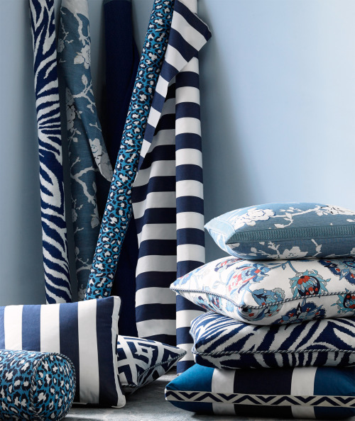 Add new color and give an old piece a new look for 2015. Photo: Kravet.