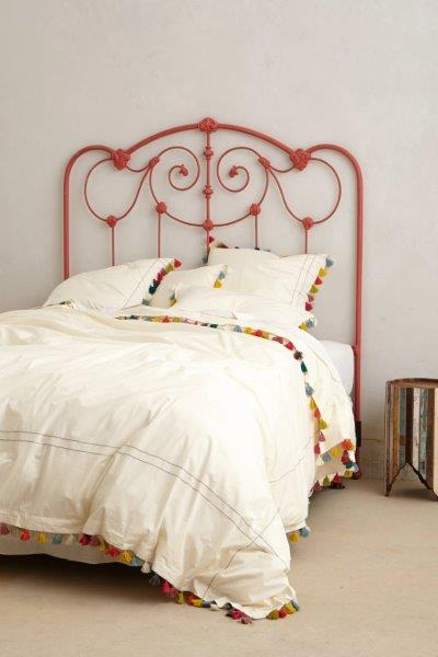 Lindi fringed duvet cover from Anthropologie. Photo: Anthropologie.com.