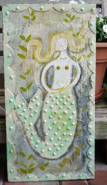 """""""Pretty Mermaid"""" by Sarah Kiser"""