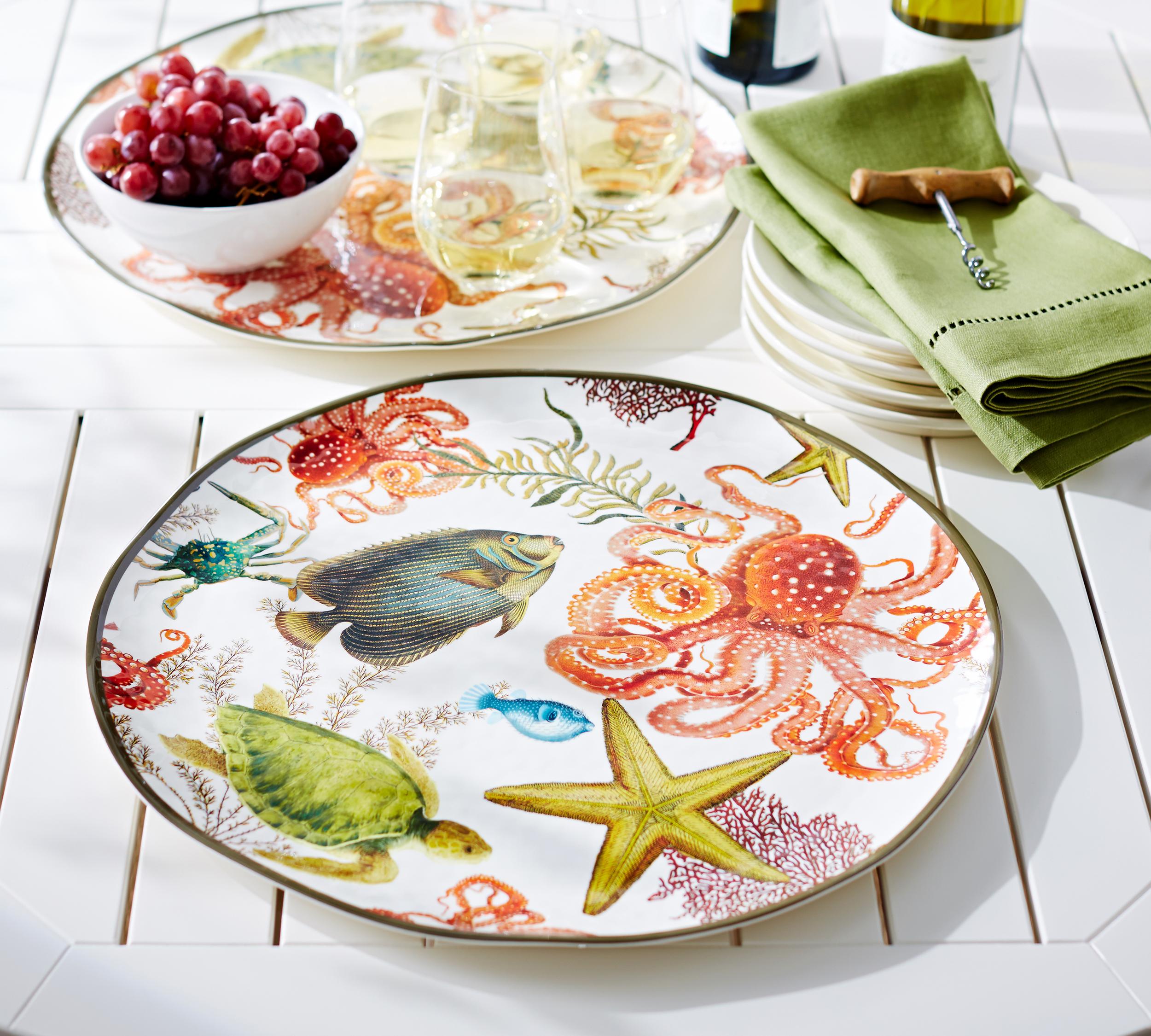 Playa Sea Critter Melamine Platter.jpg