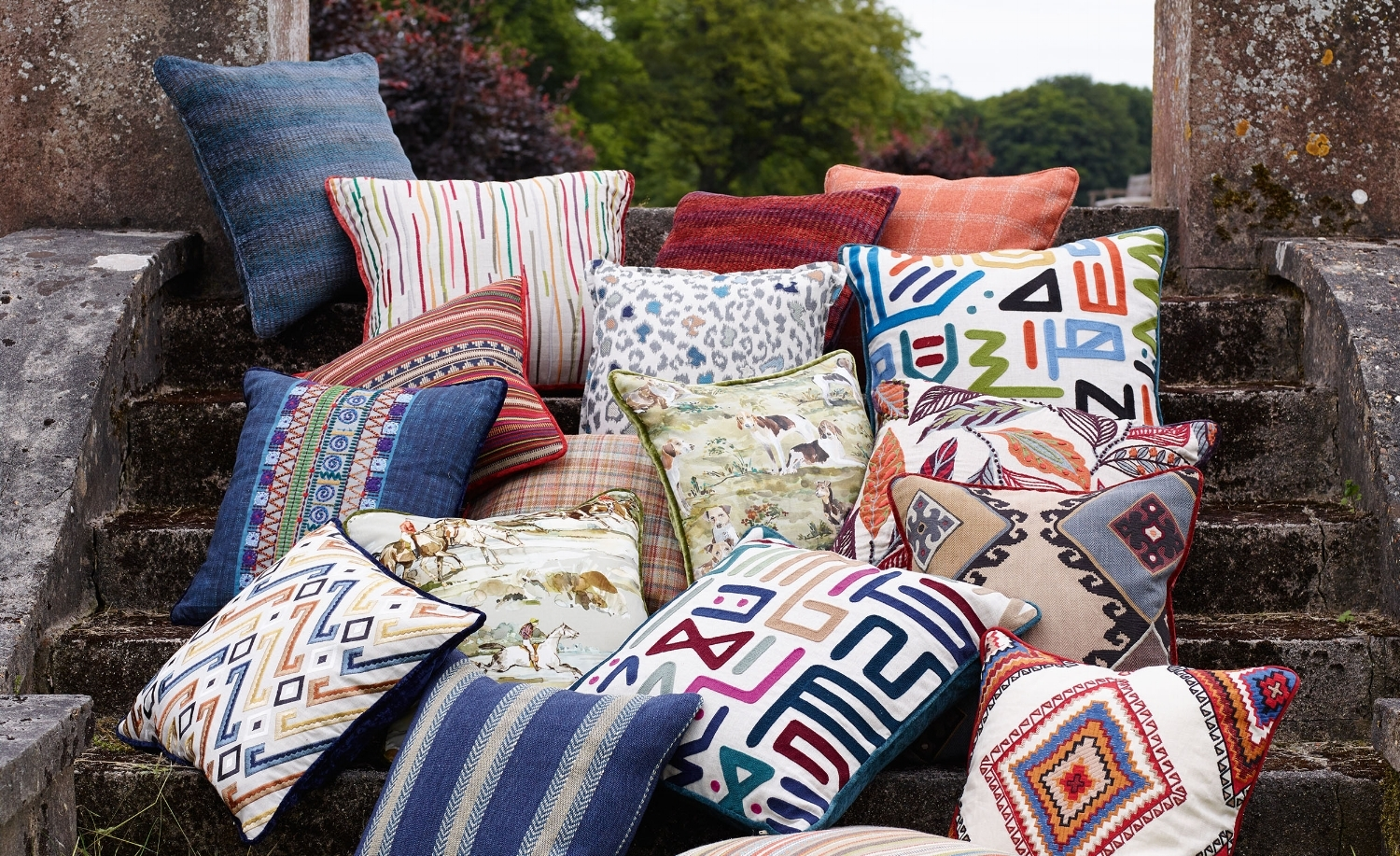 """Designers offer resources that are """"to the trade"""" and enhance your personal style, taking it to a whole new level. Shown: Festival Collection from Lee Jofa's Mulbery Home. Available at Kravet to-the-trade showroom, Naples. Photo: courtesy of Kravet."""